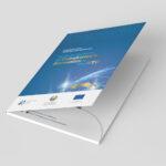 """International Trade Centre (ITC) """"Uzbekistan WTO"""" design concept.Folder cover."""