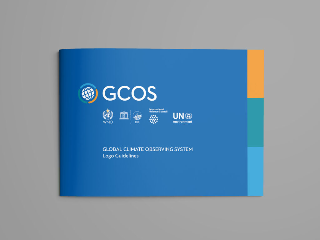 GCOS-logo-redesign-and-visual-guidance-publication-frontpage
