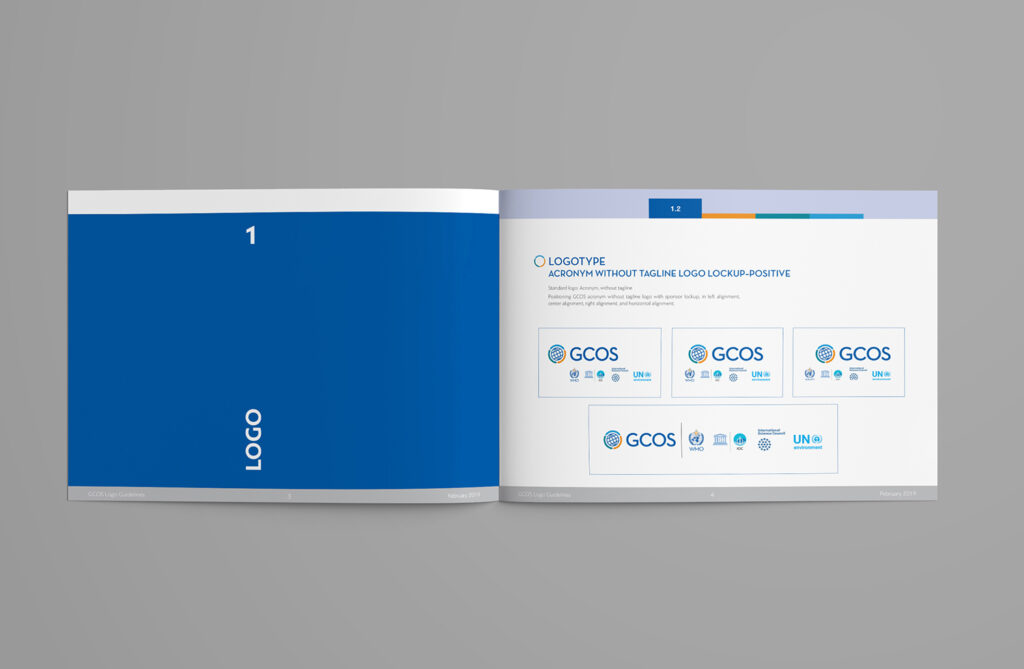 GCOS-logo-redesign- and-visual-guidance-publication-spread-1