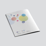 Colorful brochure - back