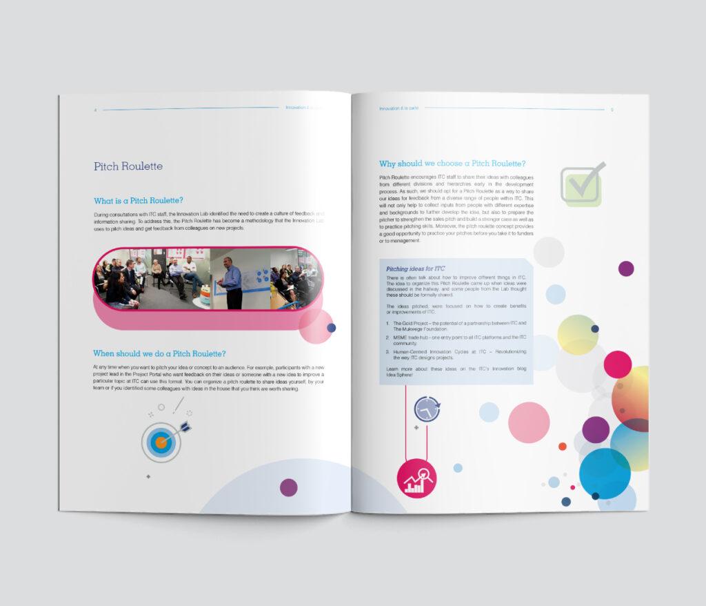 Colorful brochure - spread 3