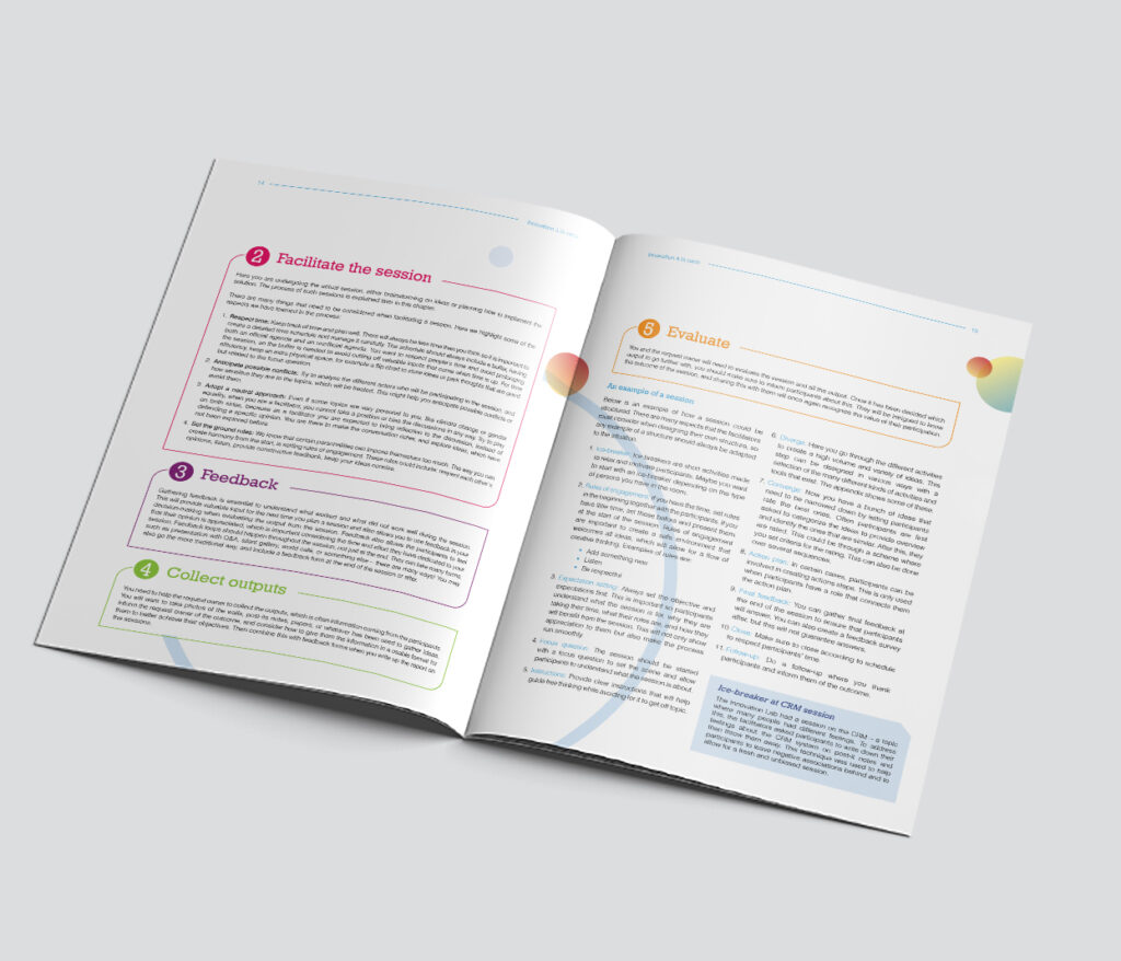Colorful brochure - spread 2