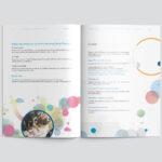 Colorful brochure - spread 1