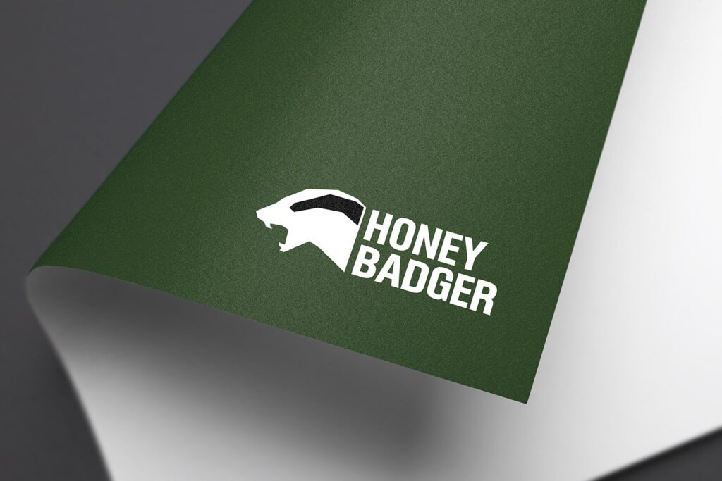 Honey-badger-logo-design-and-branding-3